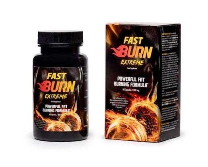 bottiglietta di fast burn extreme